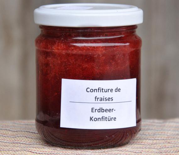 Confiture de fraises (200 ml)