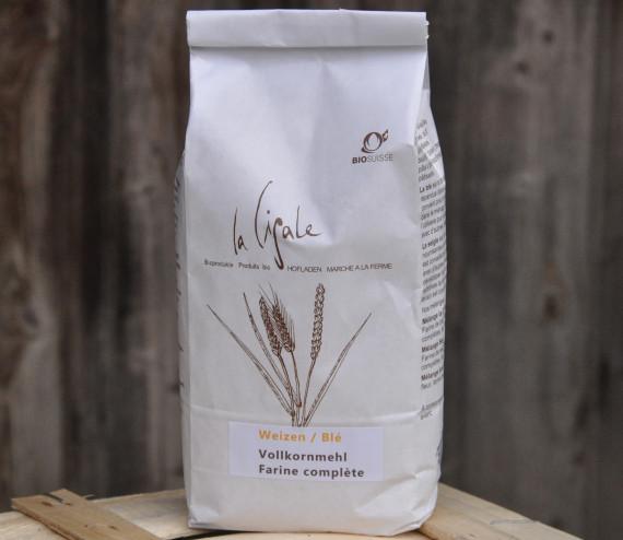 farine complète de blé 1 kg