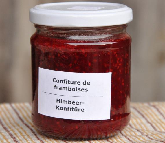 Confiture de framboises (200 ml)