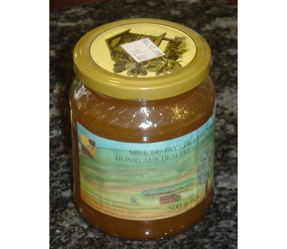 Waldhonig mixte (halbdunkel) 500 g